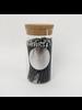 Fredericks & Mae Black + Silver Fireplace Matches - Small Jar