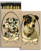 HomArt Terrific Terriers HomArt Matches - Set of 3 Boxes