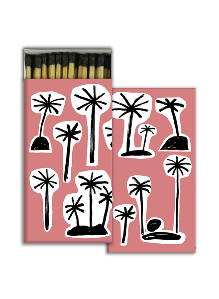 HomArt Palms HomArt Matches - Set of 3 Boxes