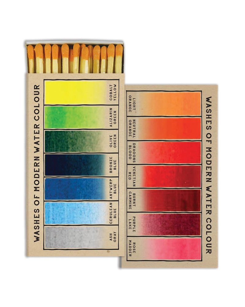 HomArt Watercolor Swatches - Matches Set of 3 Boxes