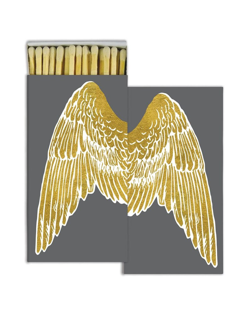 HomArt Wings - Gold Foil - Matches Set of 3 Boxes
