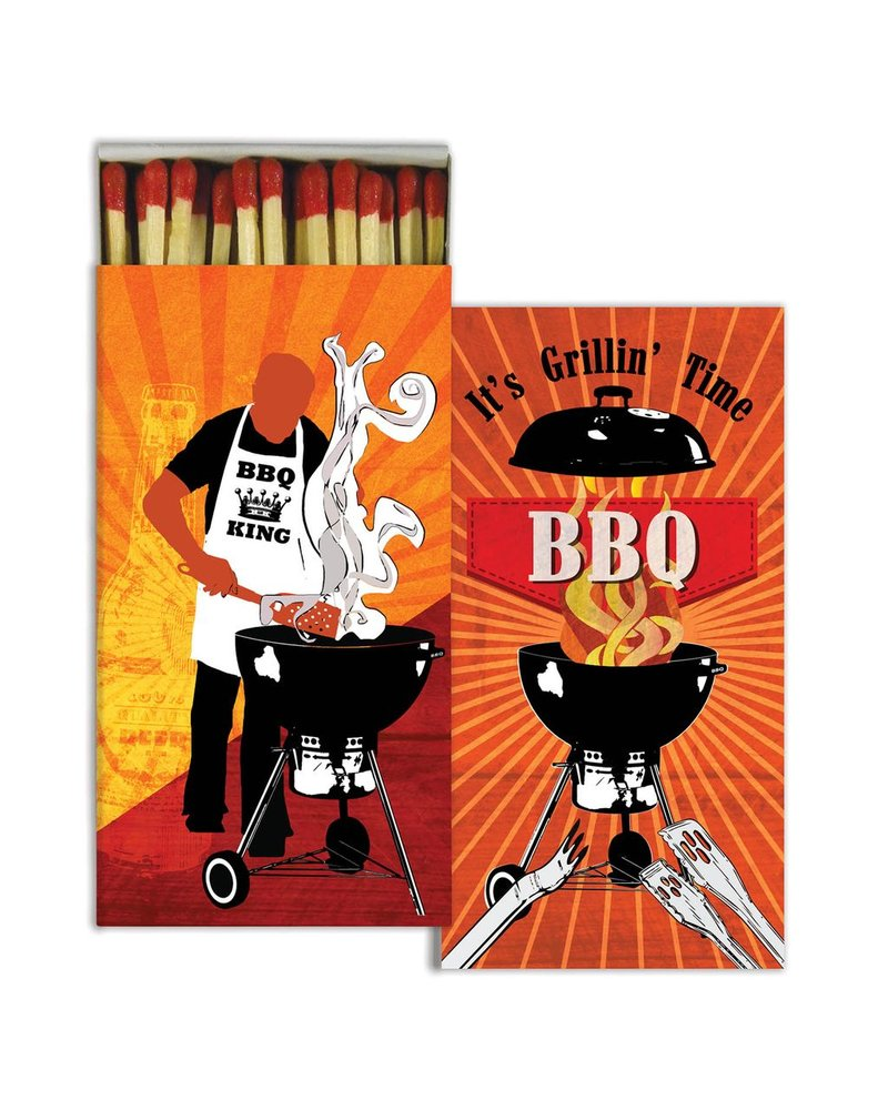 HomArt BBQ - Matches Set of 3 Boxes