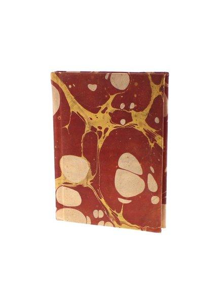 HomArt Marbleized Leather Journal  Red