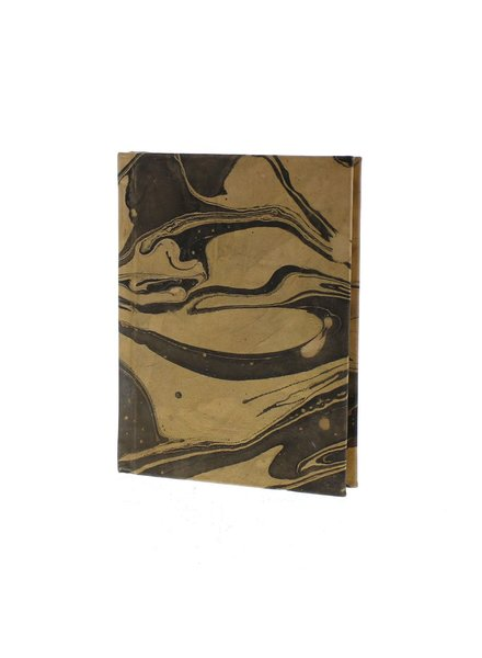 HomArt Marbleized Leather Journal  Grey