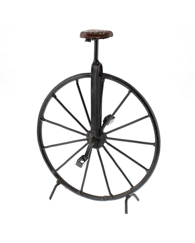 HomArt Iron and Wood Unicycle