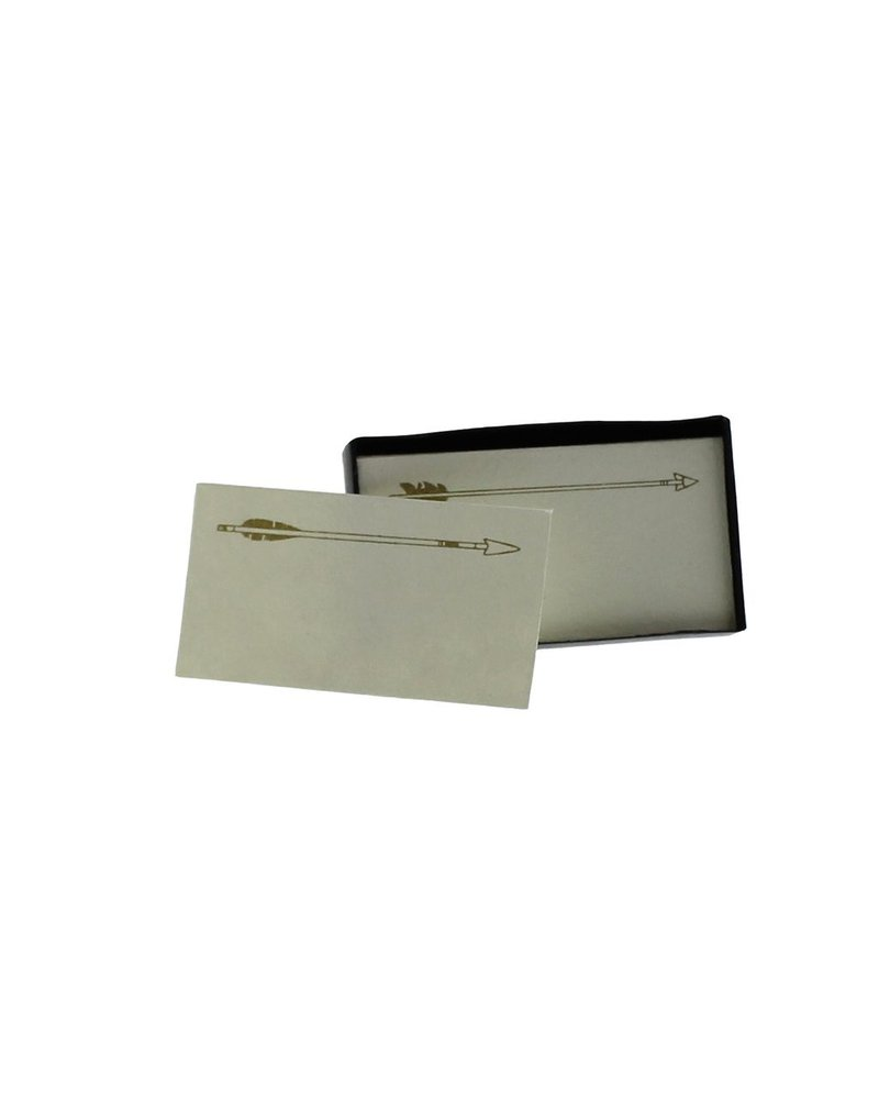 HomArt Arrows Printed Paper Cards - Box of 32