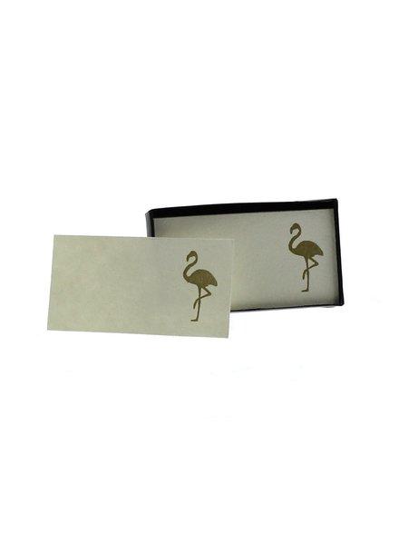 HomArt Flamingo Printed Paper Cards - Box of 32 - Set of 4 Boxes