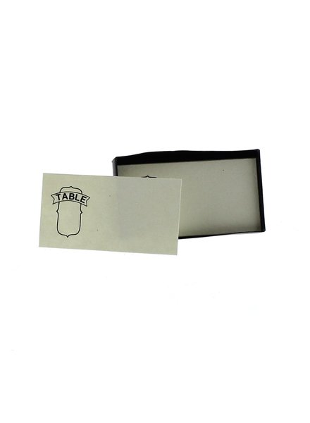 HomArt Table # Printed Paper Cards - Box of 32 - Set of 4 Boxes