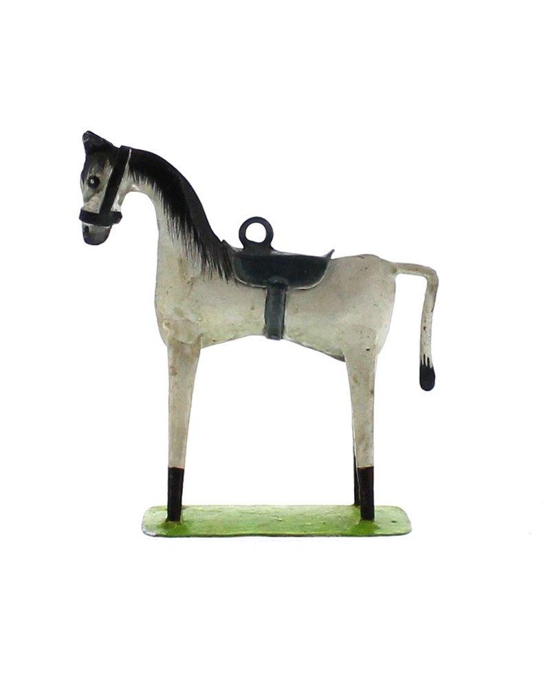 HomArt Race Horse Ornament - White