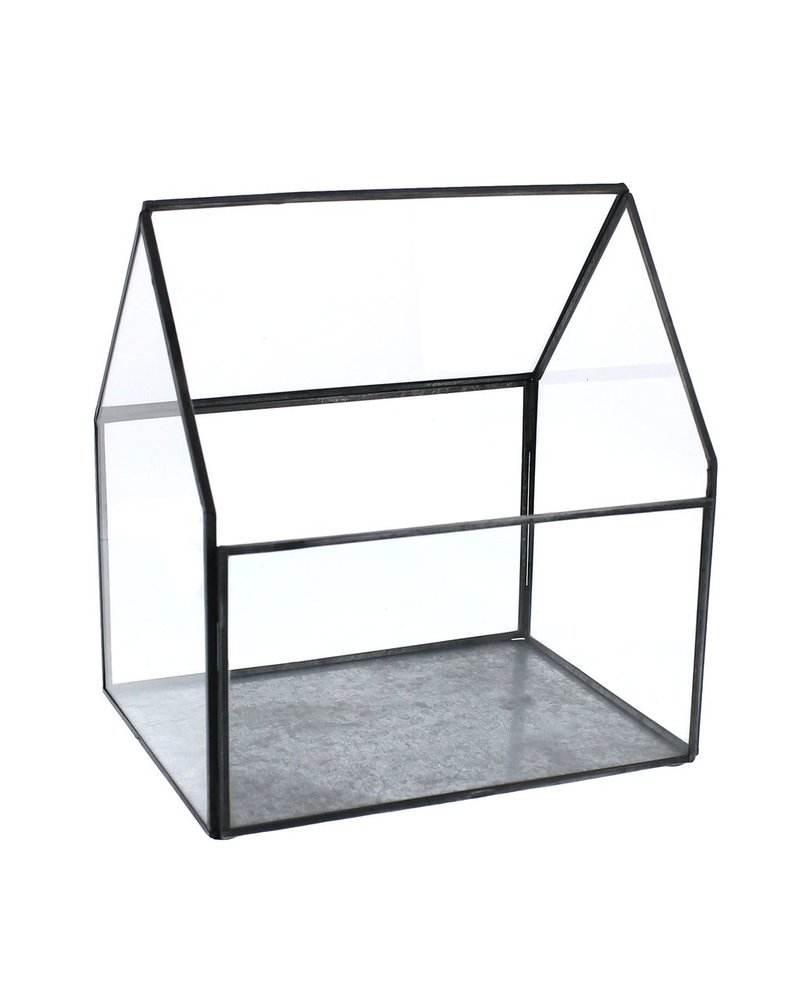 HomArt Pierre Cottage Glass Terrarium - Large