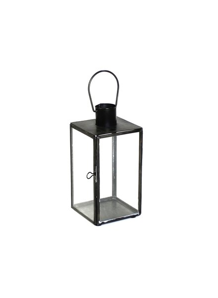 HomArt Langdon Leaded Glass Lantern - Sm