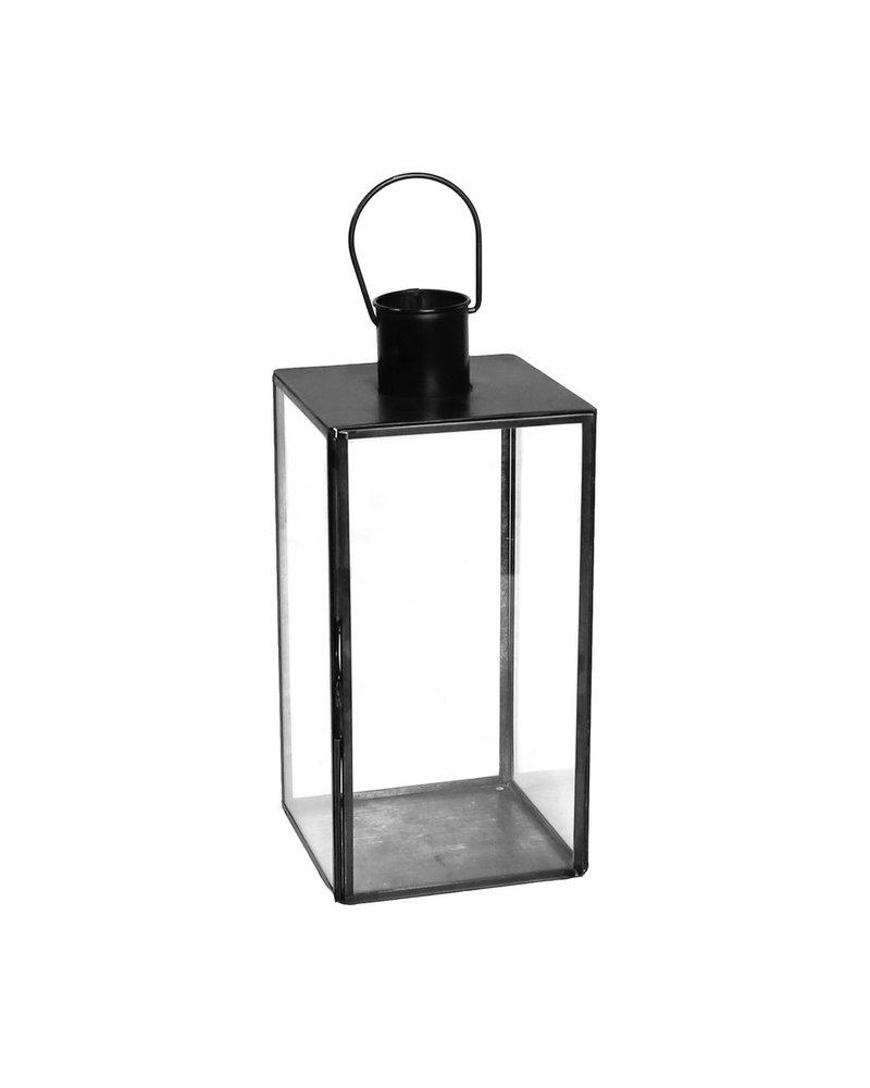 HomArt Langdon Leaded Glass Lantern - Med