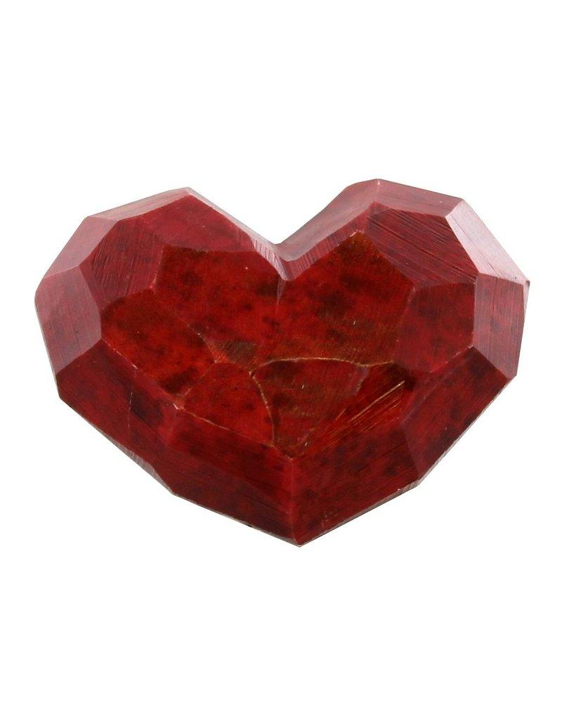 HomArt Faceted Soapstone Hearts - Med
