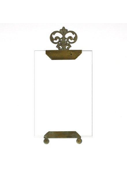HomArt Adele Metal and Glass Photo Frame - 4x6