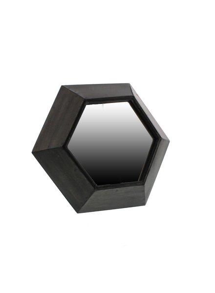 HomArt Hexagon Metal Table Mirror