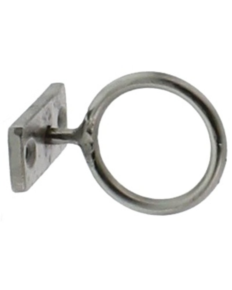 HomArt Nickel Bijou Ring - 2 in  Nickel - Set of 2
