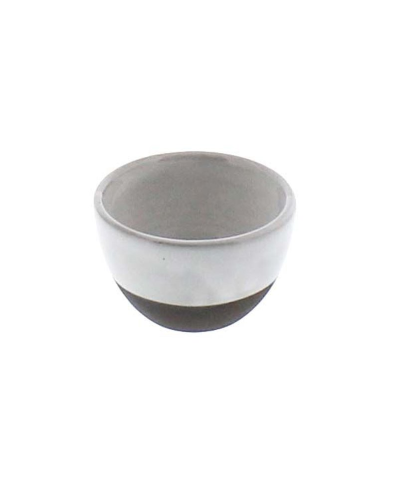 HomArt Liam Ceramic Sauce Bowl - Partial Glaze - Set of 2