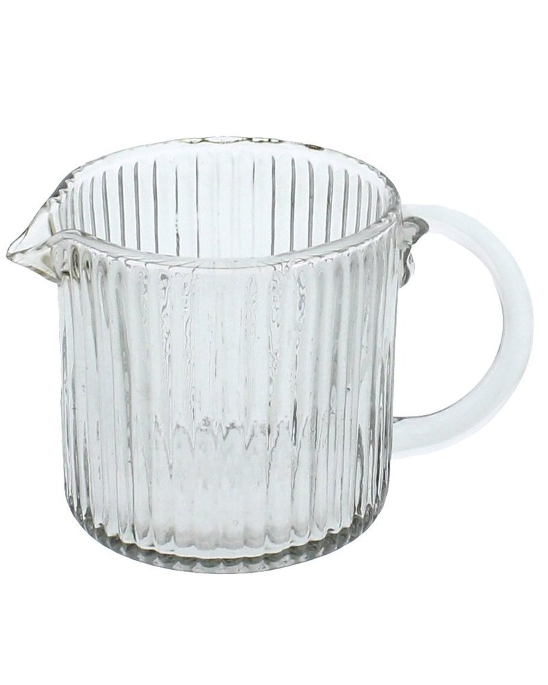 HomArt Glass Pitcher - Ribbed