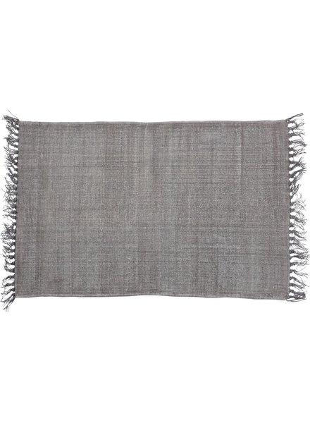 HomArt Stonewashed Cotton Rug, 2x3  Stonewashed Aubergine