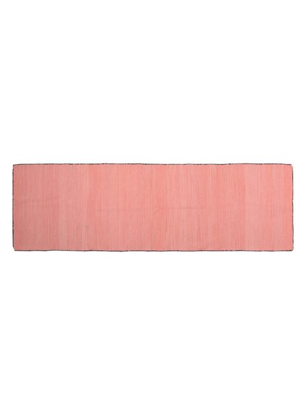 HomArt Tarabuco Cotton Runner, 2.5x8  Vermillion