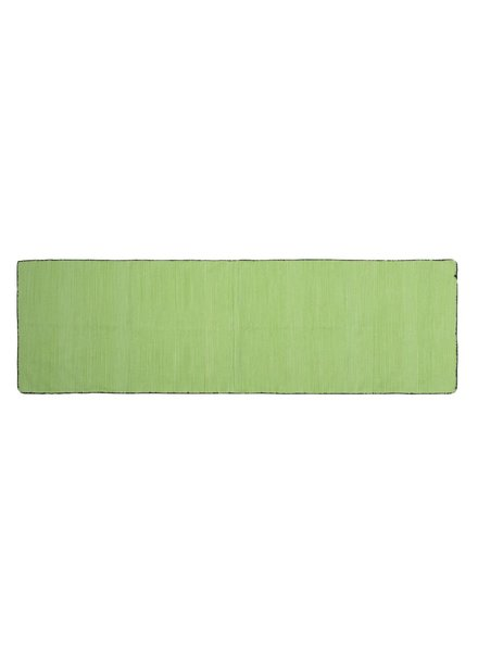 HomArt Tarabuco Cotton Runner, 2.5x8  Apple