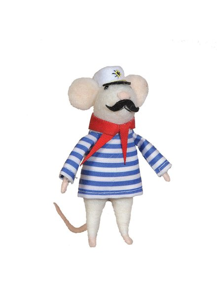 HomArt Felt Sailor Mouse Ornament
