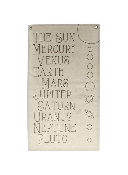 HomArt Canvas Banner - Planets