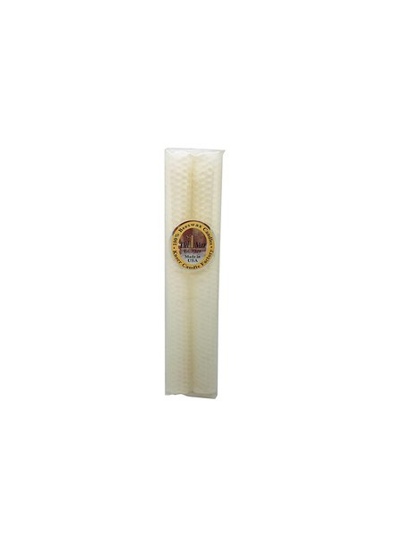 Knorr Beeswax Products Honeycomb Ivory Beeswax Taper 6""