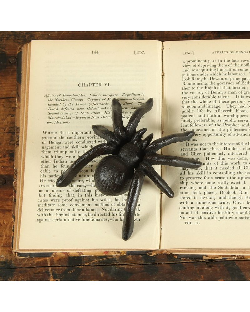 HomArt Spider - Cast Iron - Antique Black -  Set of 2