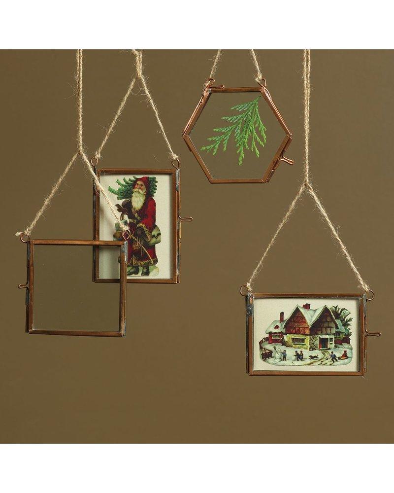 HomArt Cornell Ornament Frame - 2.5x3.5 Vertical - Copper