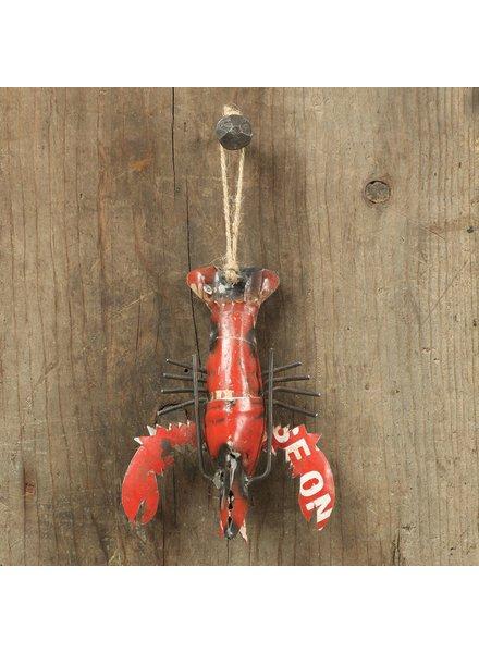 HomArt Reclaimed Metal Ornament - Lobster