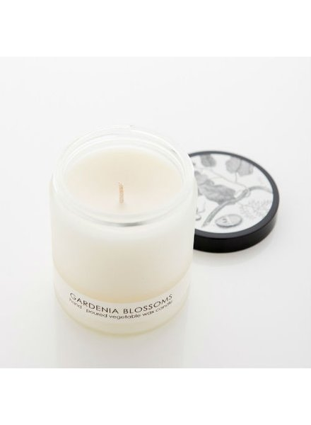 Cordelia J & Co. Gardenia Blossoms Frosted Candle