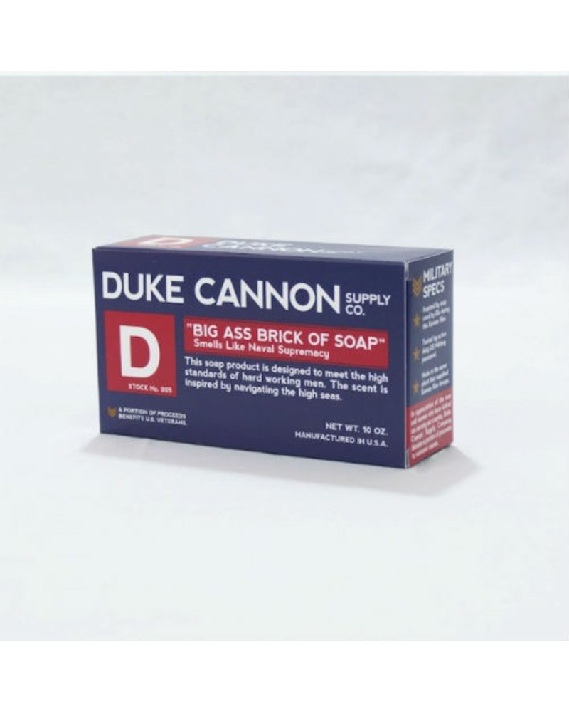 Duke Cannon Smells Like Naval Supremacy Soap
