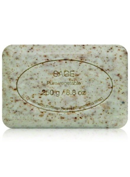 European Soaps Sage 250g Soap - Set of 2 (online only)