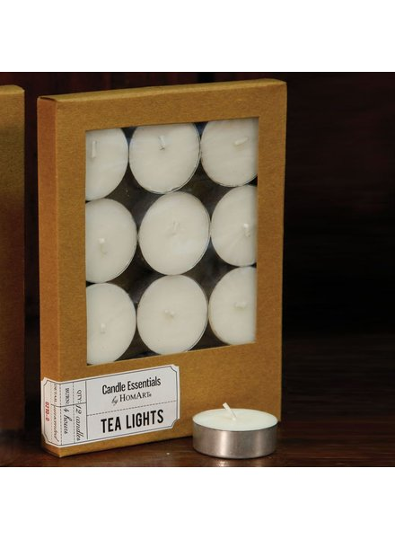 HomArt Tealight - Box of 12 Ivory - Set of 2 Boxes