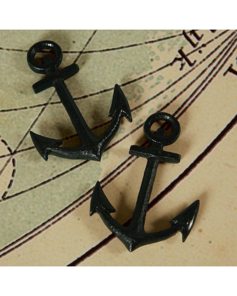 HomArt Anchor - Cast Iron Black - Set of 2