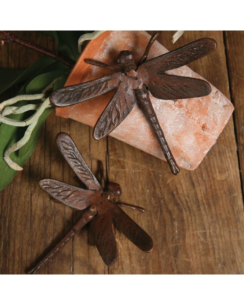 HomArt Cast Iron Rust Dragonfly