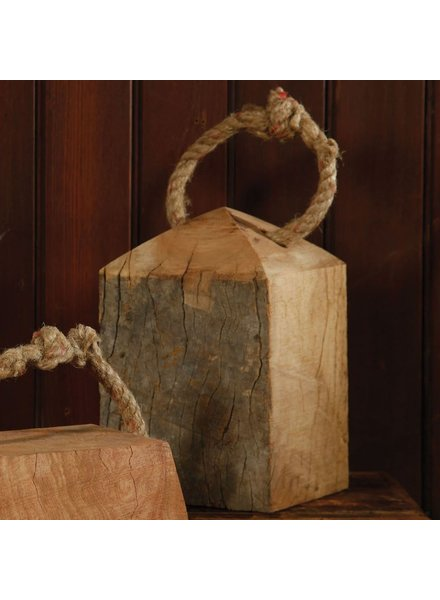 HomArt Skagway Wood Weight - Sqr