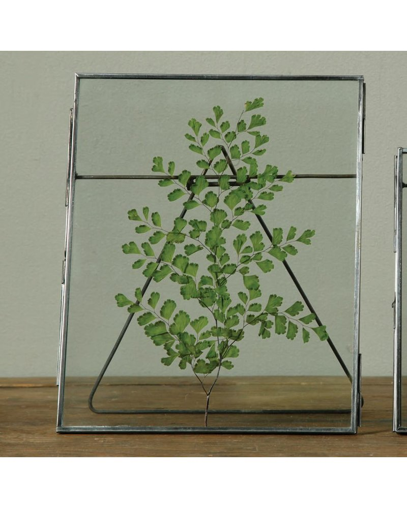 HomArt Pierre Easel Frame - 8x10 - Vertical Zinc