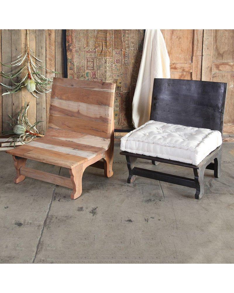 HomArt Avalon Wood Chair - Natural