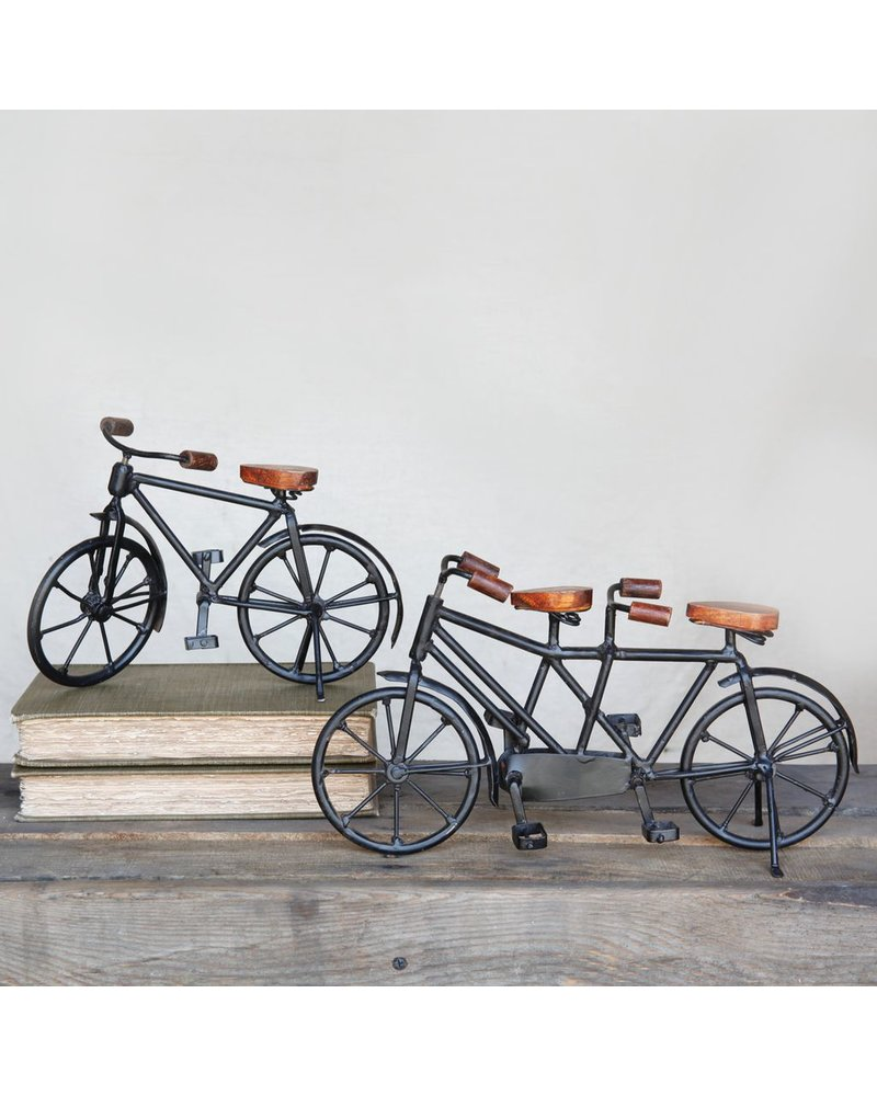 HomArt Iron and Wood Bicycle