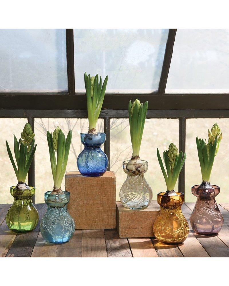 HomArt Bulb Vase Recycled Green