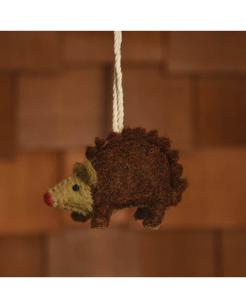HomArt Felt Hedgehog Ornament