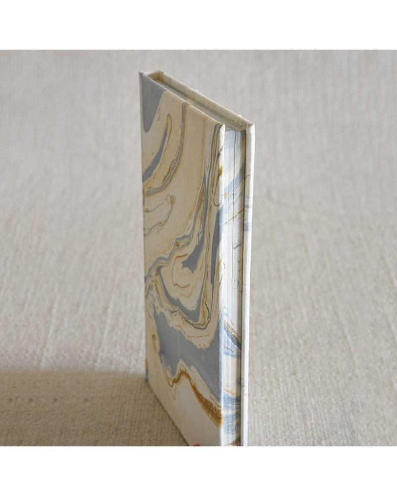 HomArt Marbleized Paper Journal-Blue