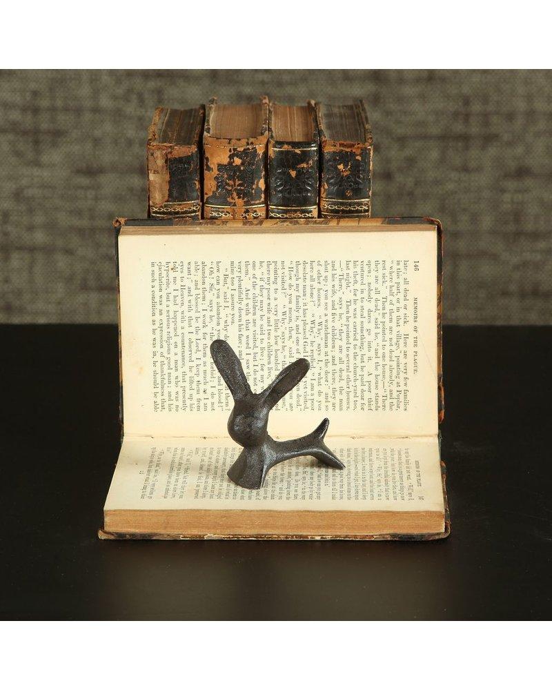 HomArt Pablo Critter - Cast Iron Bunny - Brown