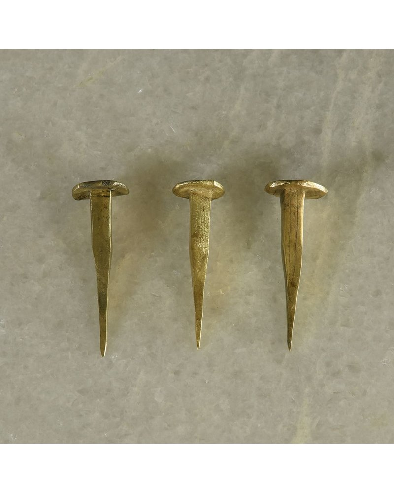 HomArt HomArt Forged Iron Nail-Brass