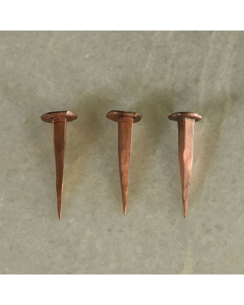 HomArt HomArt Forged Iron Nail-Copper Set of 6