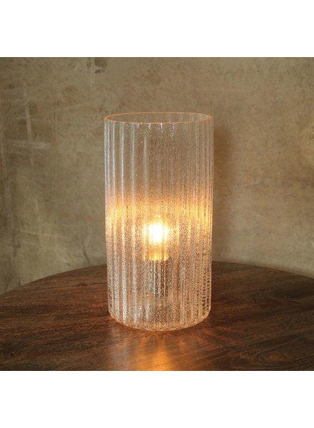 HomArt Stina Glass Table Light - Clear