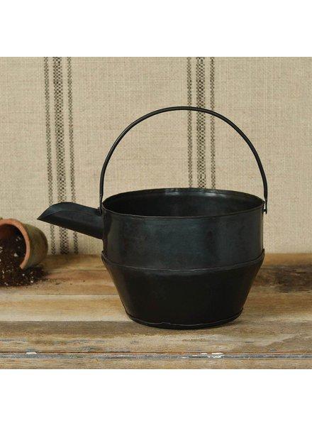 HomArt Metal Watering Can - Waxed Black