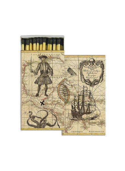 HomArt Pirate HomArt Matches - Set of 3 Boxes